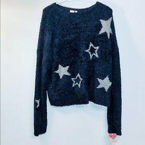 Make+Model fuzzy sweater